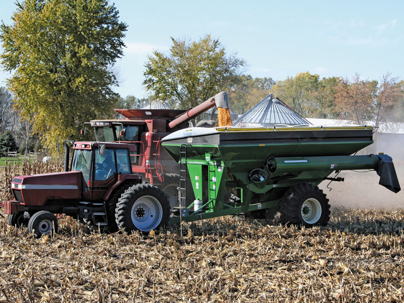Our Grain Cart Tarping Systems Will Outperform Your