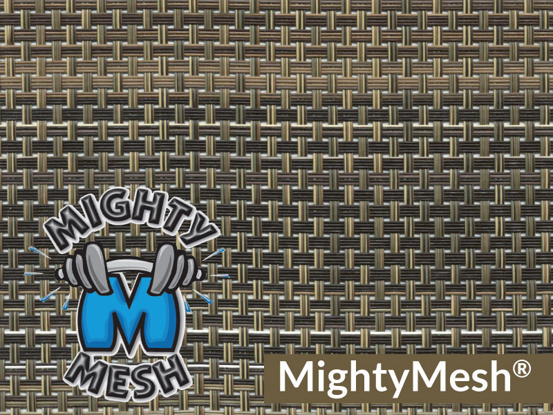 Mighty Mesh is the strongest tarp material available today.