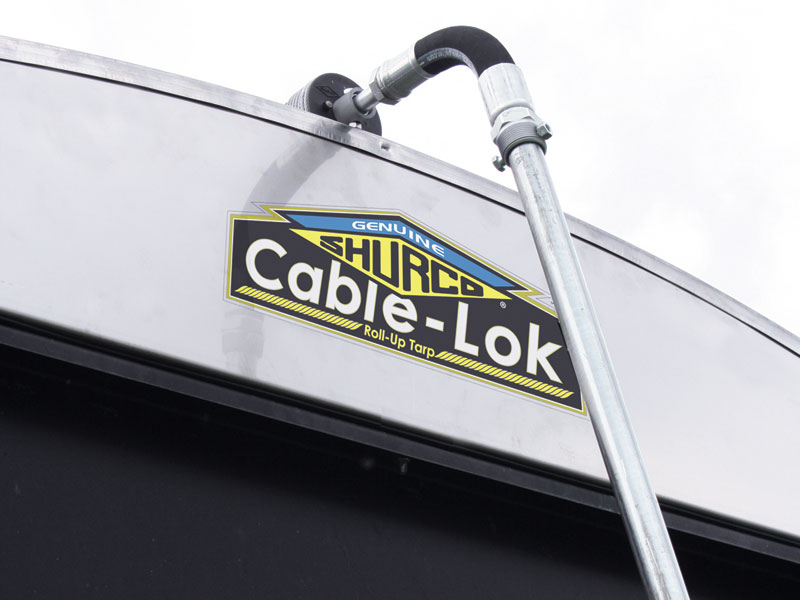 For a reliable roll tarp system that performs well in windy conditions, the Cable-Lok™ is an ideal choice for belly dump