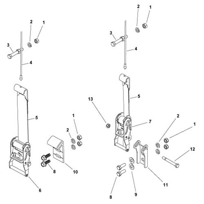 Ratchet/Cable Assemblies
