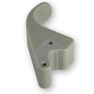 """Easy-Off Flexible 6"""" Offset Tarp Stop Upright w/Embedded Safety Plates"""