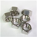 """Stainless Hex Nut - 3/8"""""""