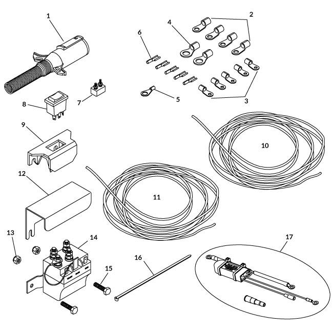 Cab Wiring Kits