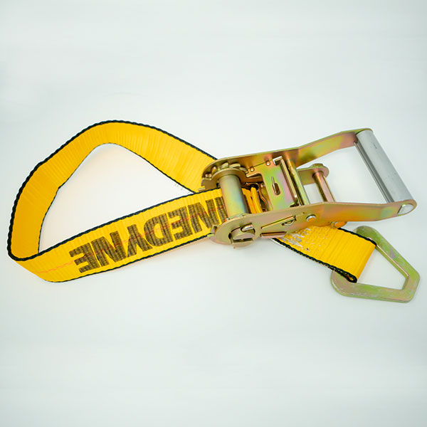 Ratchet w/Cargo Strap & D-Ring